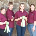 Tehama County 4-H Livestock Judging Team